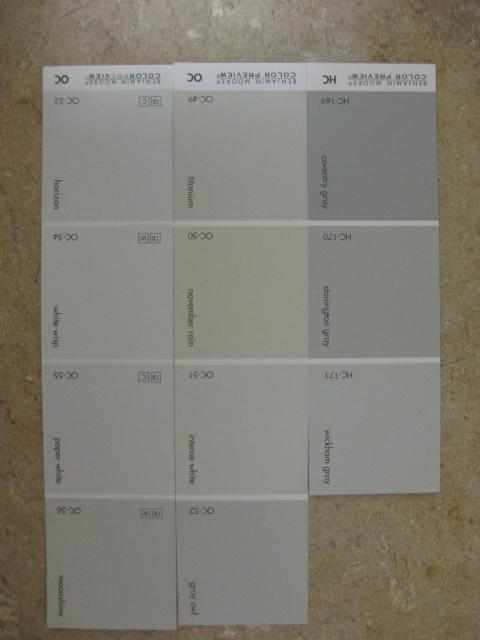 Home Depot Paint Shades